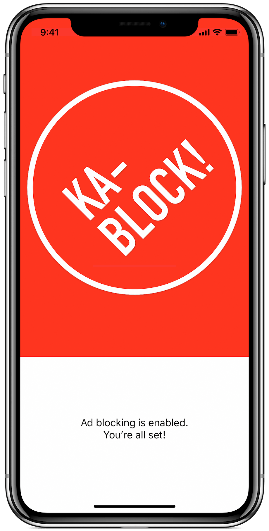 Ka-Block! iPhone app